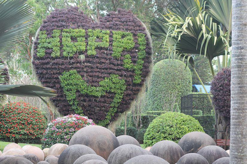 Экскурсия в сад Нонг Нуч в Паттайе, Таиланд