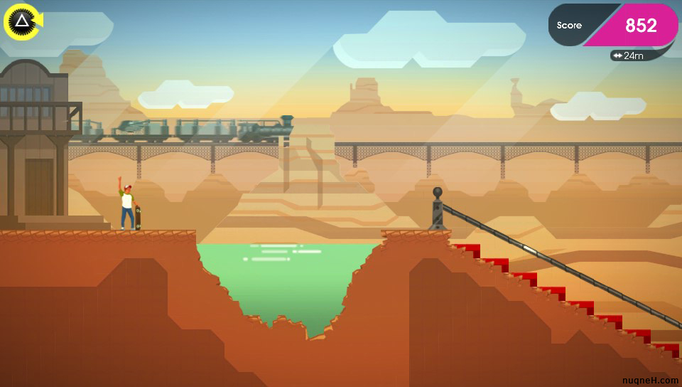 Screenshot of OlliOlli 2: Welcome to OlliWood