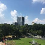 Independence Palace rooftop view