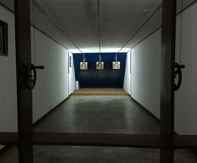Rifle range in Independence Palace