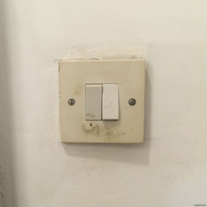 Switch in Independence Palace