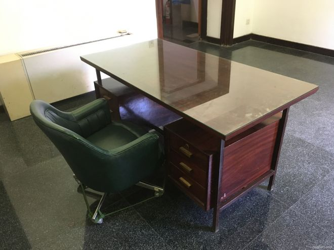 Table in Independence Palace