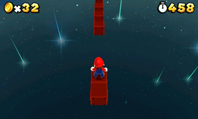 Secret level jump in Super Mario 3D Land
