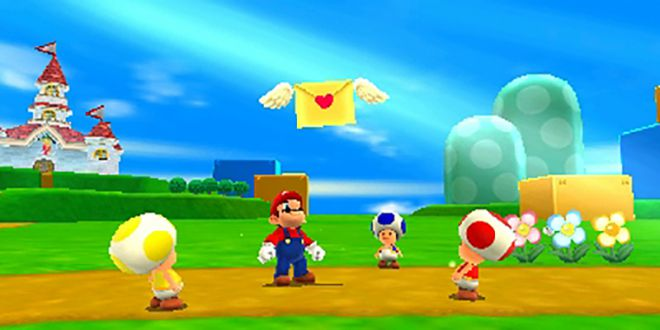 Letter in Super Mario 3D Land
