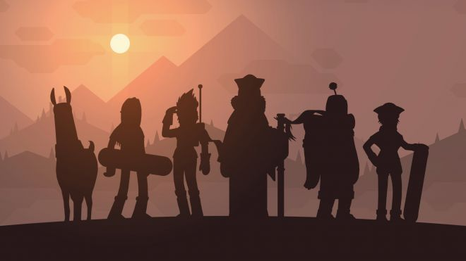 Characters of Alto's Adventure