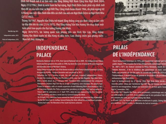 History of Independence Palace