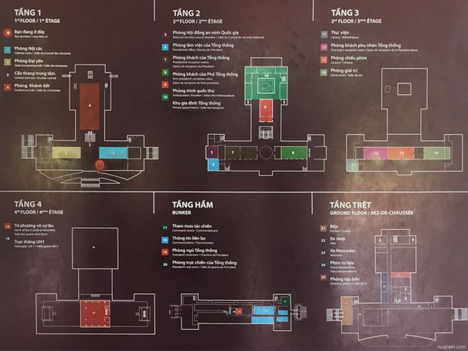 Independence palace map