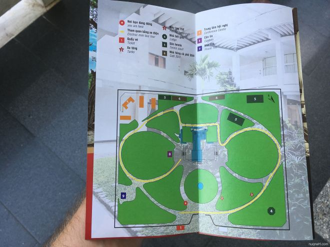 Independence palace park map