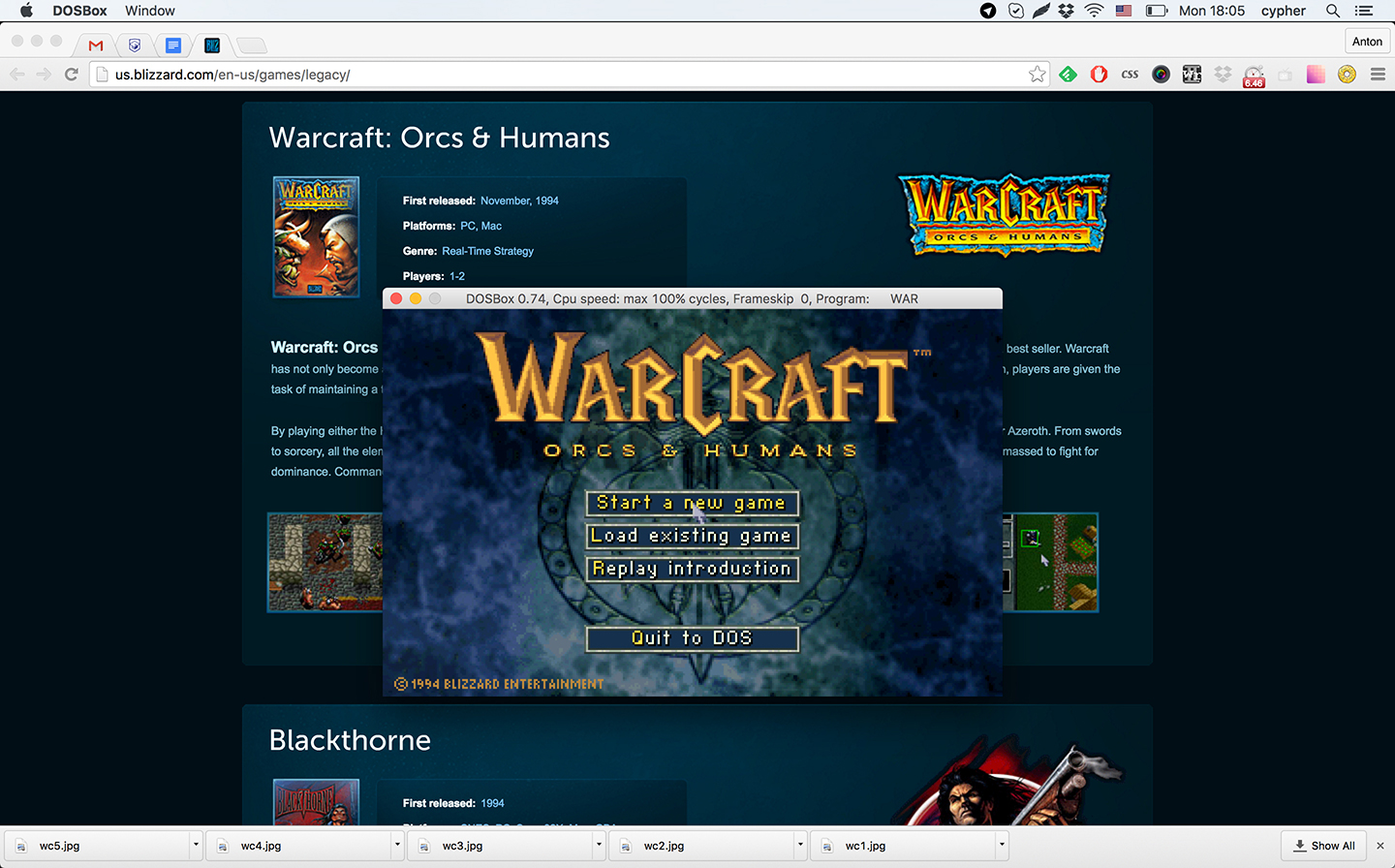 Let S Run The Original Warcraft On A Modern Computer Nuqneh