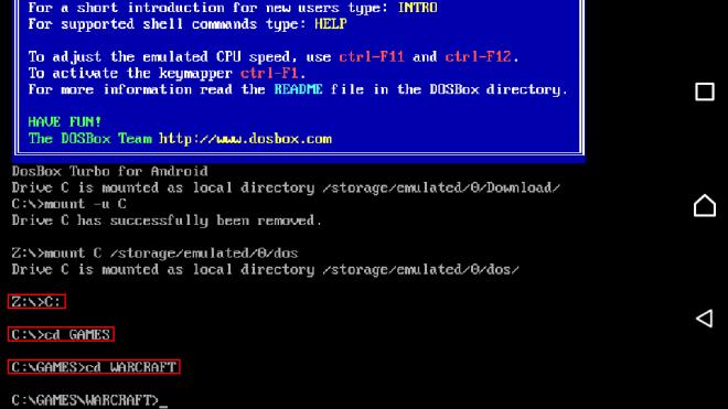 Change folder in aFreeBox