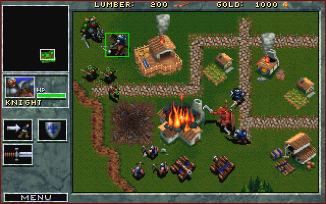 Warcarft: Orcs & Humans battle.net screenshot
