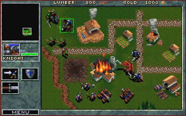 Warcarft: Orcs & Humans battle.net screenshot
