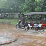 Flood starts